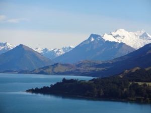 Views towards the top of Lake Wakatipu