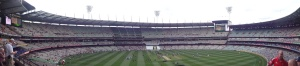 Another view of the MCG